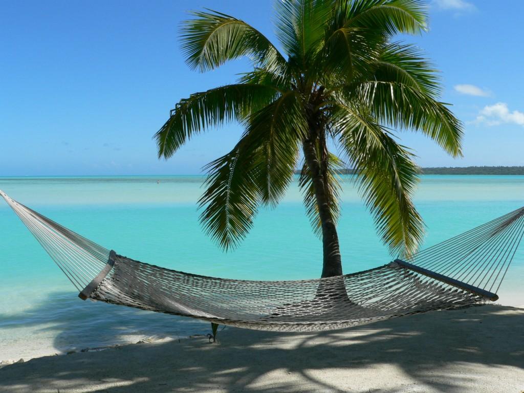 Se détendre sur une plage de l'Ouest de l'île