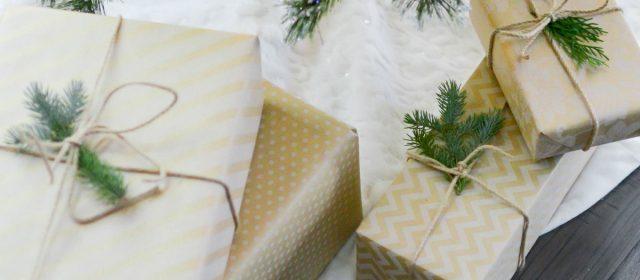 Des idées d'emballages cadeaux 100% Noel