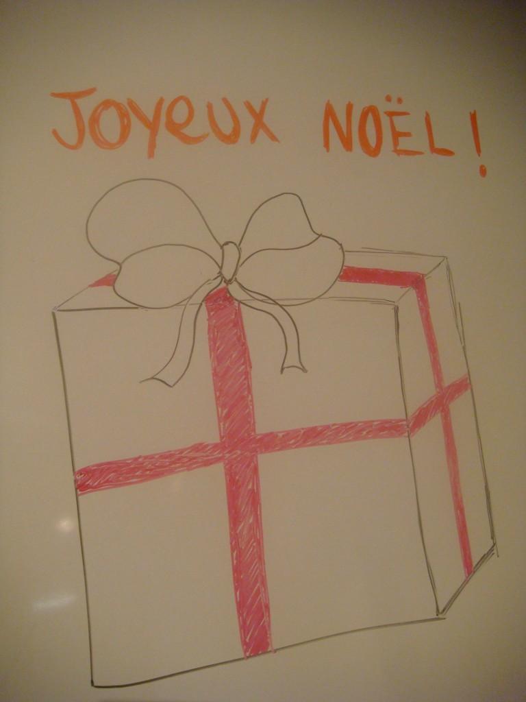 Les cadeaux c'est pour bientôt !
